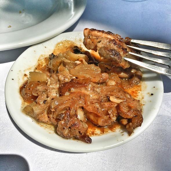 Offal @ Platanos Traditional Cretan Cusine