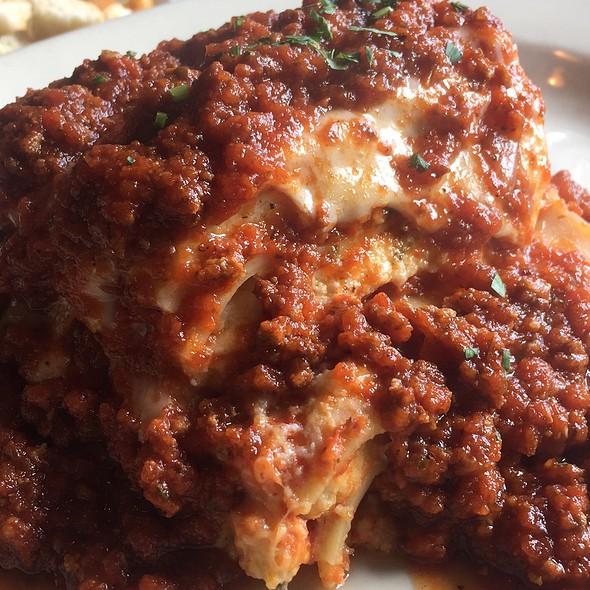 lasagna @ graziano's brick oven pizza