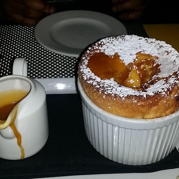 Salted Caramel Souffle - China Grill - New York, New York, NY