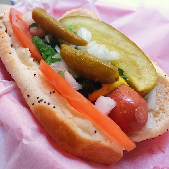 Chicago Style Hot Dog @ U.B. Dogs, Inc