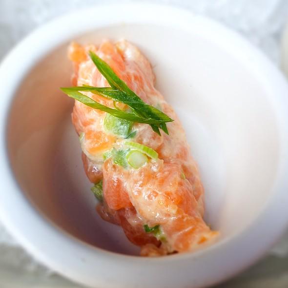 Salmon Tartare @ RM Champagne Salon