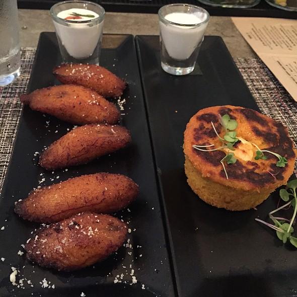 Plantains And Jalapeño Sweet Potato Cornbread @ La Loteria