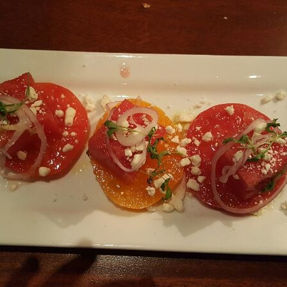 Heirloom Tomatoes And Watermelon - Seasons 52 - Buckhead, Atlanta, GA