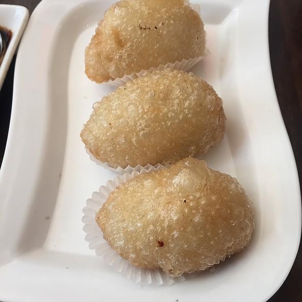 Fried Mochi Pork Dumpling