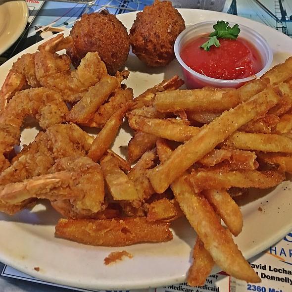 Fried shrimp @ Cajun Boilers