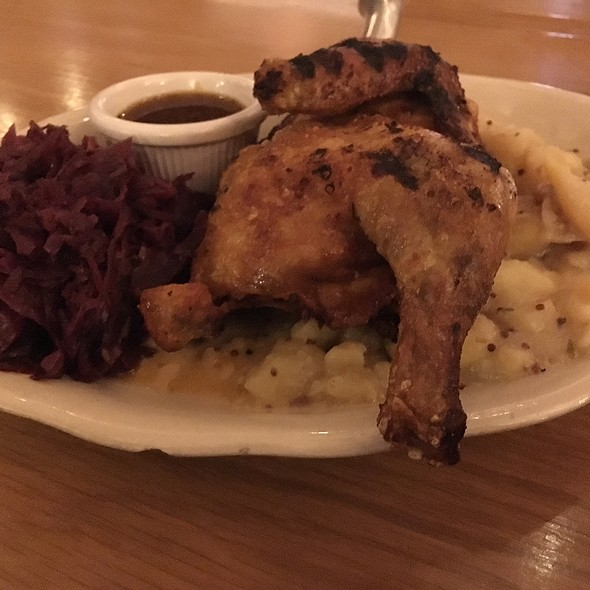 Split Roasted Chicken @ Carillon Brewing Co