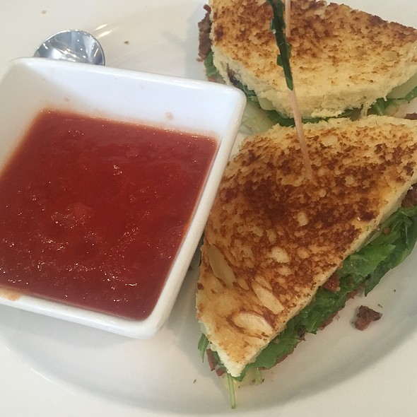 Blt And Tomato Soup @ Sheraton San Jose Hotel