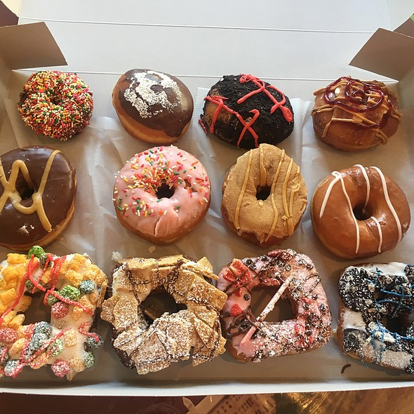 Assorted Donuts @ Psycho Donuts