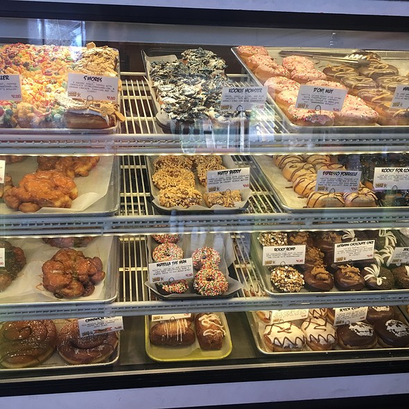 Display Cases @ Psycho Donuts