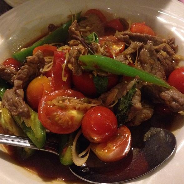 Panang Curry With Beef @ Sa Wad Dee Thai Restaurant