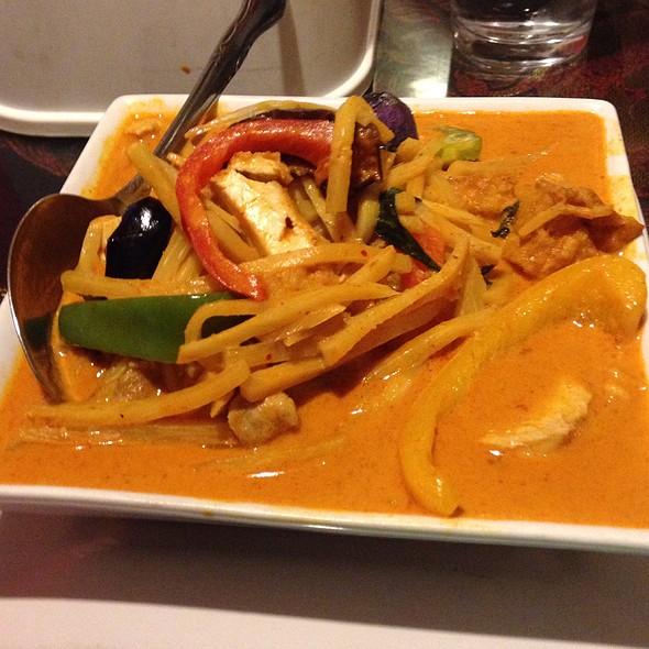 Chicken & Pumpkin Curry @ Sa Wad Dee Thai Restaurant