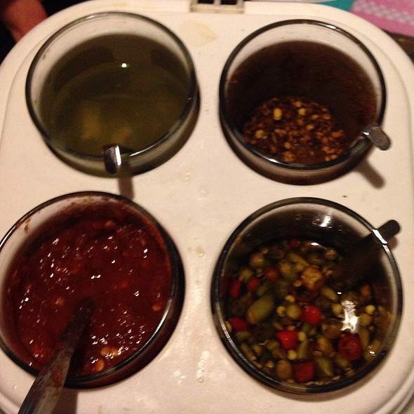 Chili Peppers And Sauces @ Sa Wad Dee Thai Restaurant