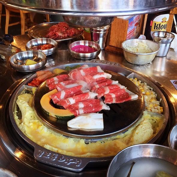 Beef Brisket @ Kang Hodong Baek Jeong