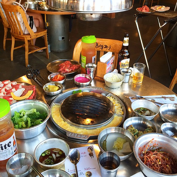Korean BBQ @ Kang Hodong Baek Jeong