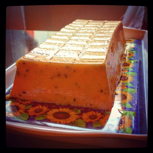 Melon And Mint Terrine