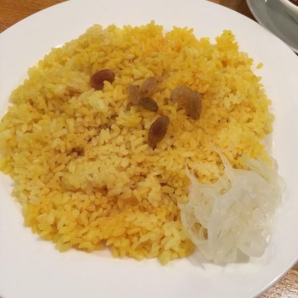 Buttered Rice & Raisins @ カーナ・ピーナ