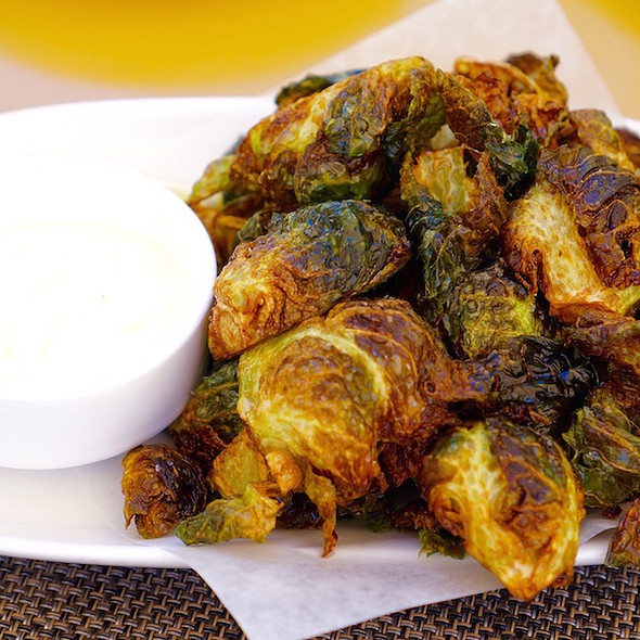 Fried Brussels Sprouts @ Sam's Social Club