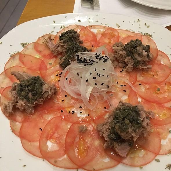 Tomato Carpaccio & Tuna
