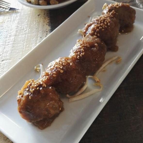 Meatballs With Teriyaky Sauce