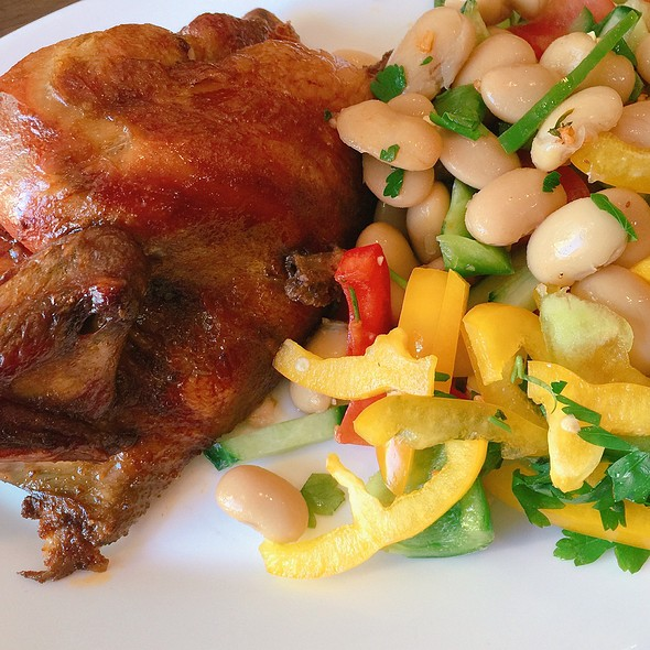 1/2 Roast Chicken & Salad