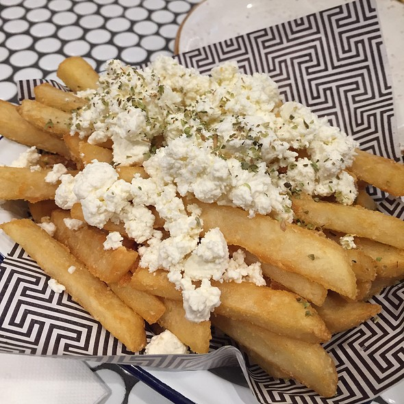 Feta And Oregano Chips @ Zeus Street Greek Broadway Shopping Centre