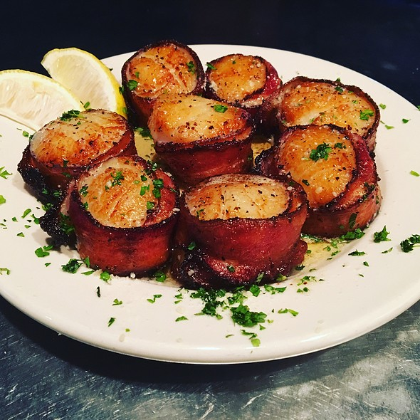 Bacon Wrapped Scallops - 4th Base Restaurant, Milwaukee, WI