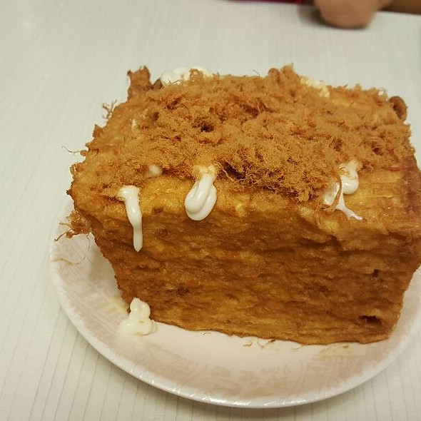 French Toast Chicken Floss bread