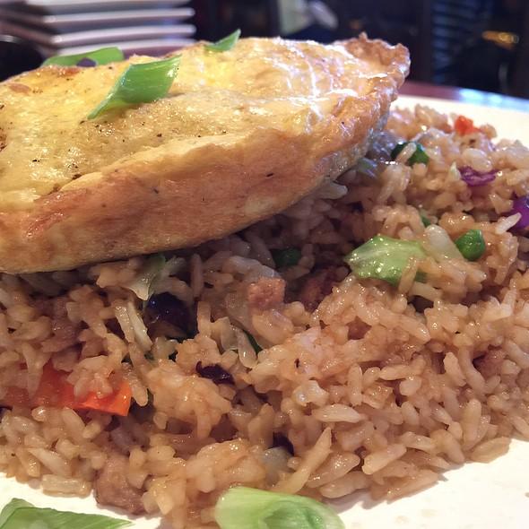 Hawaiian Fried Rice @ Lazy Dog Cafe