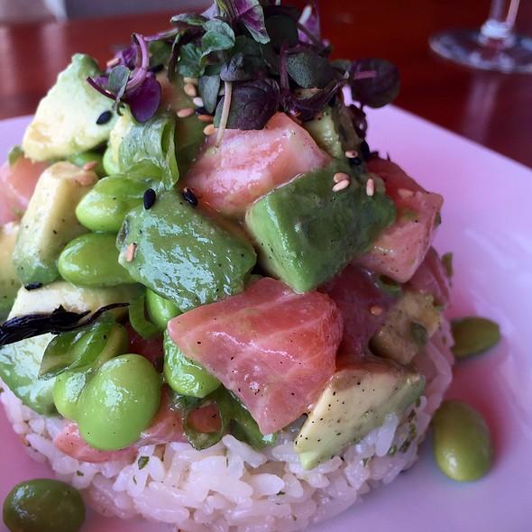 Spicy Salmon Poke @ Katsuya Glendale