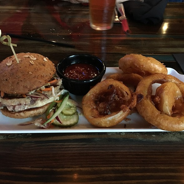 Ahi Tuna Burger
