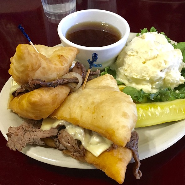 Navajo French Dip @ Cameron Trading Post