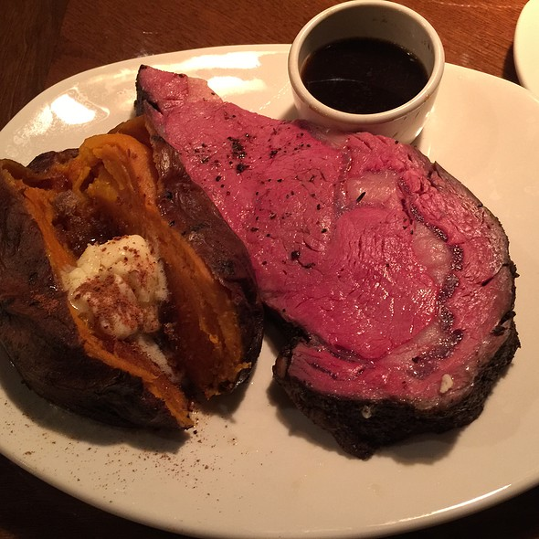 8Oz Prime Rib Steak & Sweet Potato