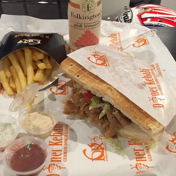 Doner Kebab Pita Sandwich