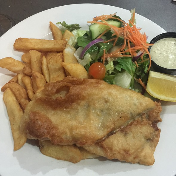 Barramundi Chips And Salad @ Norths Devils Leagues Club