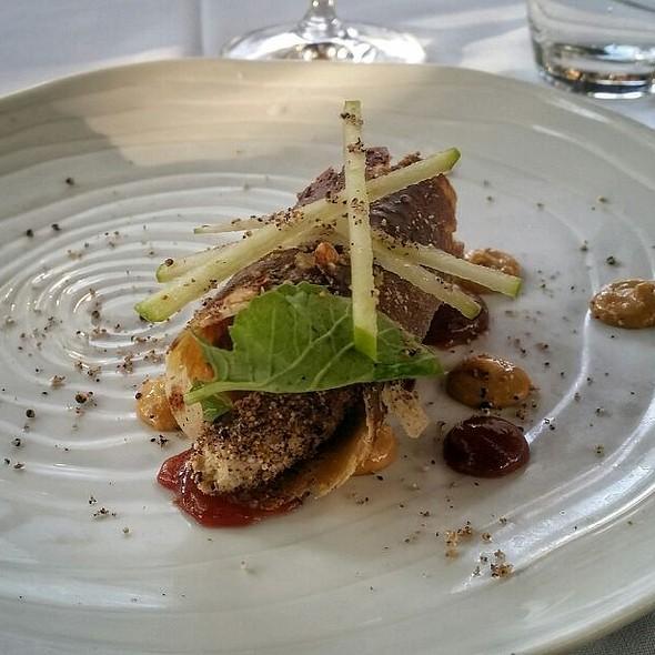Foie Gras Mousse @ L'auberge Restaurant On Oak Creek