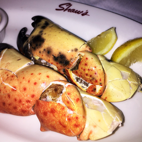 Stone Crab Claws @ Shaw's Crab House