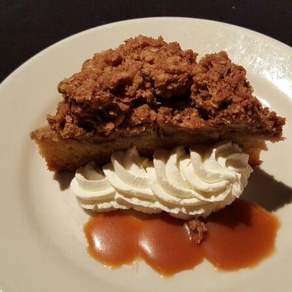 Pear And Sour Cream Coffee Cake - Tony Mandola's, Houston, TX