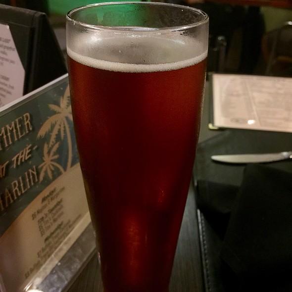 Carlsbad Chronic Amber Ale @ The Black Marlin Bar & Seafood Grill
