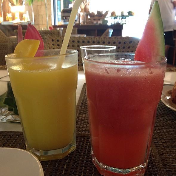 Fresh Fruit Shakes @ Maribago Bluewater Beach Resort and Spa