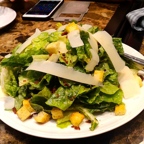 Eggless Caesar Salad @ Flatiron 1771