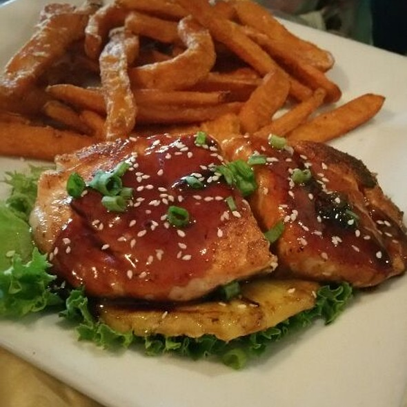 Salmon @ Haywire Burger Bar