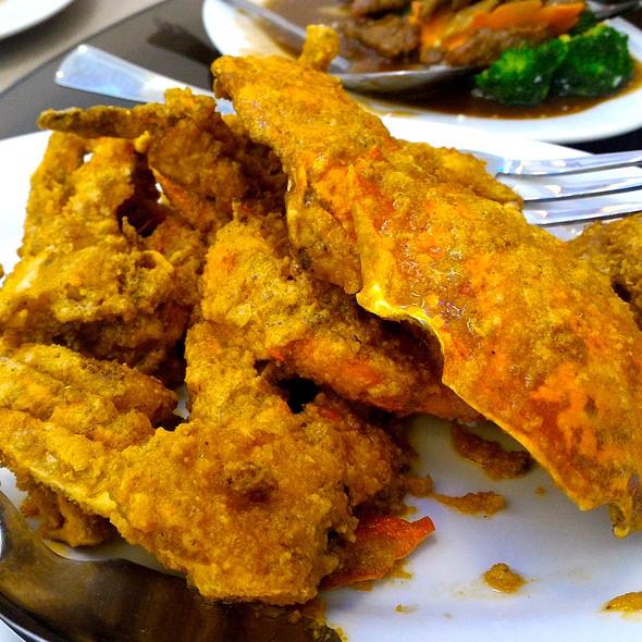 Salted Egg Crabs @ Ocean Seaside Restaurant