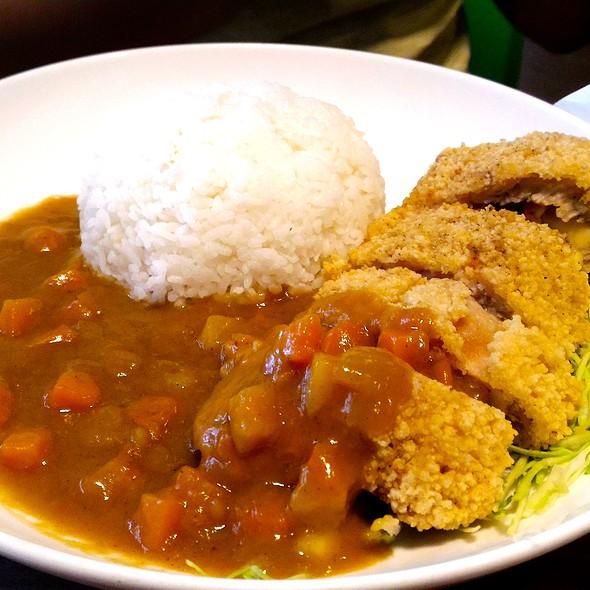 Curry Cheese Pork Rice @ Tea Rock Cafe