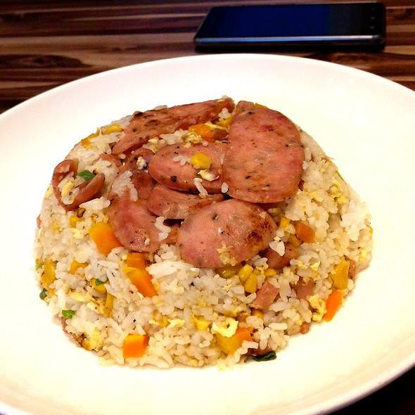 Special Mixed Taiwan Sausage Fried Rice