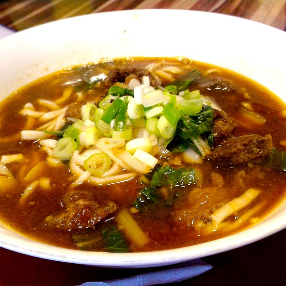 Taiwan Beef Noodles @ Tea Rock Cafe