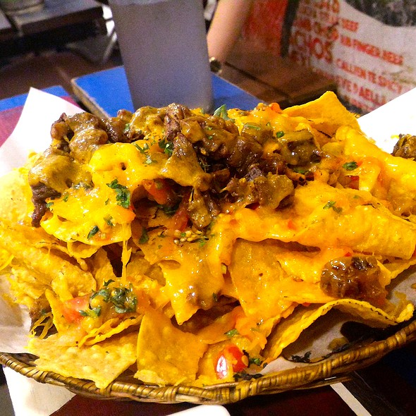 Beef Nachos @ Silantro Fil-Mex Cantina