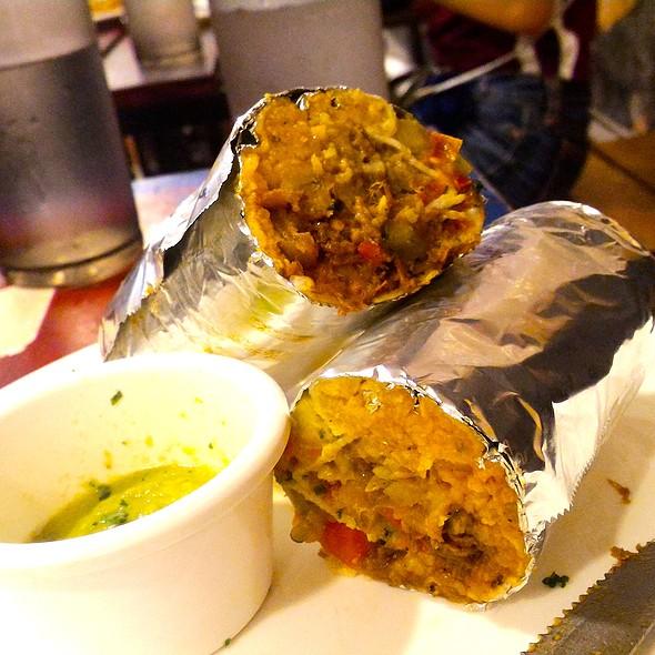 Silantro's Burrito @ Silantro Fil-Mex Cantina