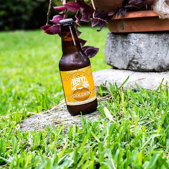 Abita Golden Beer @ Villa Strelitzia