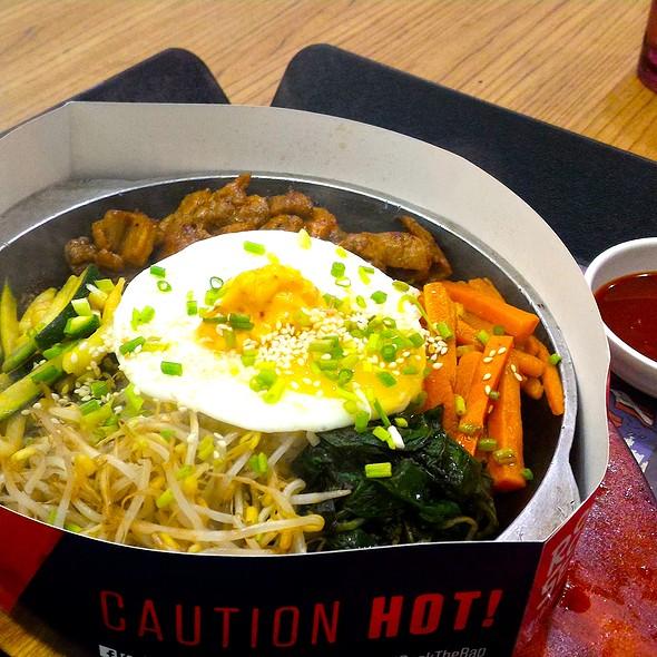 Korean Pork BBQ Bibimbap @ Rock & Seoul