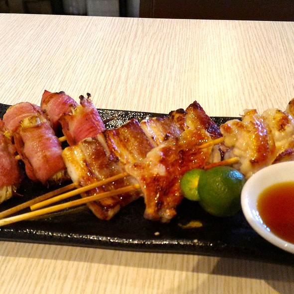 Yakitori Plate @ Oedo Japanese Restaurant